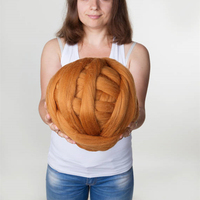 1000g/Ball 100% Acrylic yarn for DIY knitting lot yarn chunky yarn 8cm blanket pet nest scarf