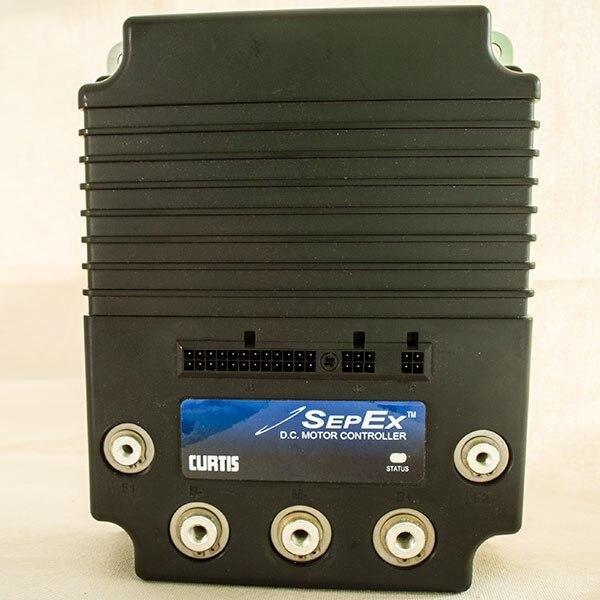 CURTIS Programmable DC SepEx Motor Controller 1268-5403 400A 36V/48V
