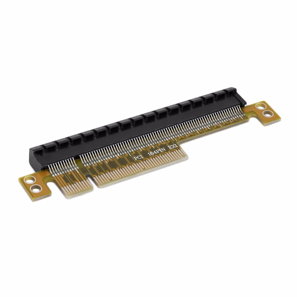 PCI-E Express 8X to 16X Durable Adapter Riser Card Without Extended Cable