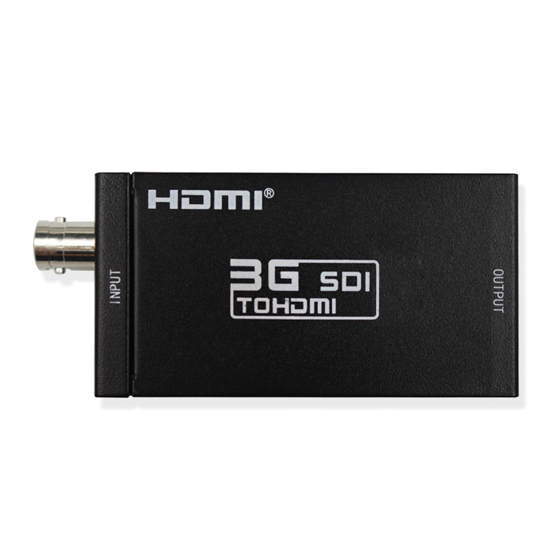 New SDI to HDMI Converter SDI2HDMI Support HD 3G SDI signal to HDMI for CCTV Monitor Camera Free Shipping new aputure vs 5 7 inch 1920 1200 hd sdi hdmi pro camera field monitor with rgb waveform vectorscope histogram zebra false color