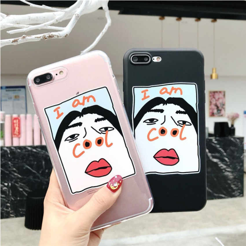 c6f012ca72 ... Funny Cartoon Couples Phone Cases For iphone 5 5S SE 6 6S 7 8 plus For  ...
