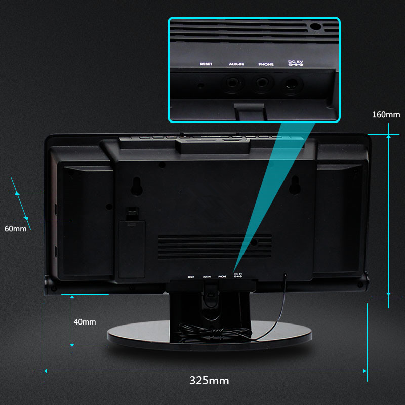 2017 yeni Wall cd maşın sec masaüstü audio CD disk pleyeri usb - Portativ audio və video - Fotoqrafiya 6