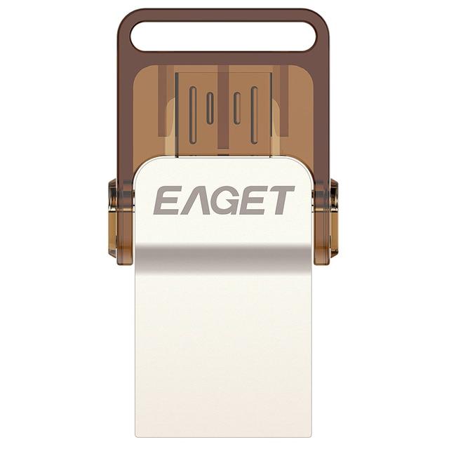 EAGET V9 32GB 16GB 8GB Smart Phone Tablet PC USB Flash Drives OTG external storage micro pen drive memory stick Free shipping