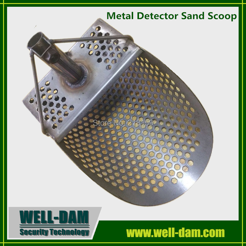 Beach Stainless Steel sand scoop for metal detector цена
