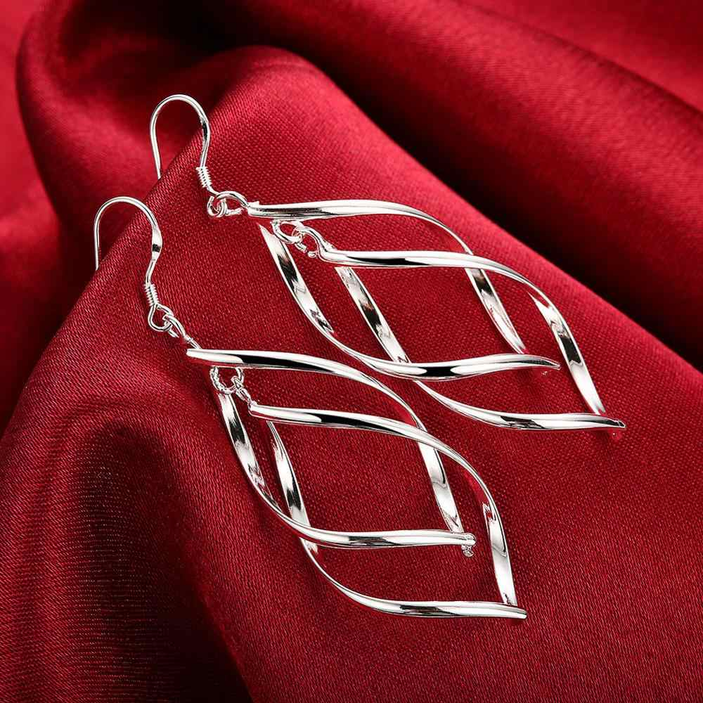 Accessories New Design silver plated jewelry Female's earrings Fashion brincos Earhook Accessories Trendy Ornaments