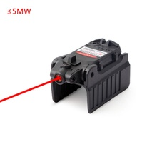 Tactical Glock Laser Sight Rear Red Laser High Base fit Aiming Airsoft Glock 17 18C 19 22 23 25 26 27 28 31 32 33 34 35 37 стоимость