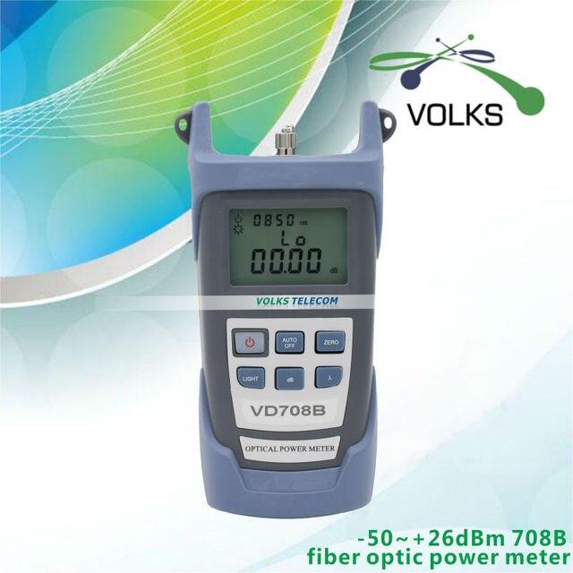 fiber optical power meter VD708B -50~+26dBm free shipping