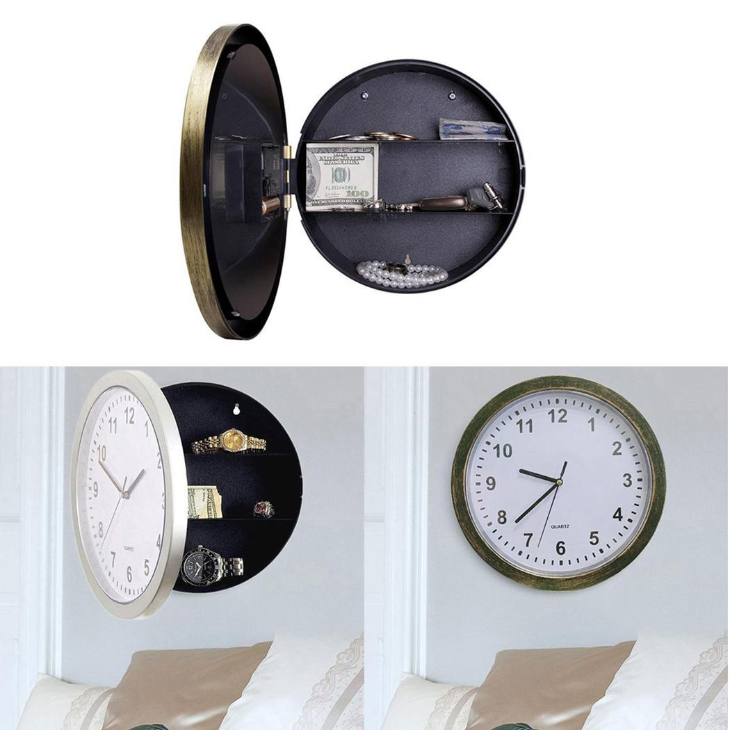 Hidden Safe Clock   Stash Box Money  2