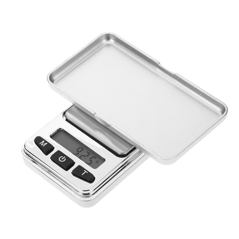 Precious Mini LCD Backlight Digital Jewelry Gold Silver Scale Pratical Electronic Kitchen Weighing Tool with 3 Specification