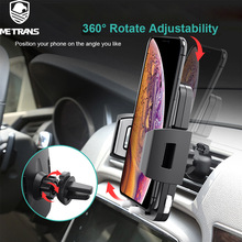 Metrans Gravity Car Phone Holder For iPhone 7 XS Max 360 Degree GPS Air Vent Mount Holder For Samsung Xiaomi Huawei Phone Stand metrans gravity car phone holder for iphone 7 xs max 360 degree gps air vent mount holder for samsung xiaomi huawei phone stand