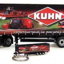 "UH-5689 комплект Renault Magnum+ Kronetrailer ""Kuhn"" и брелок с прицепом ""Kuhn"
