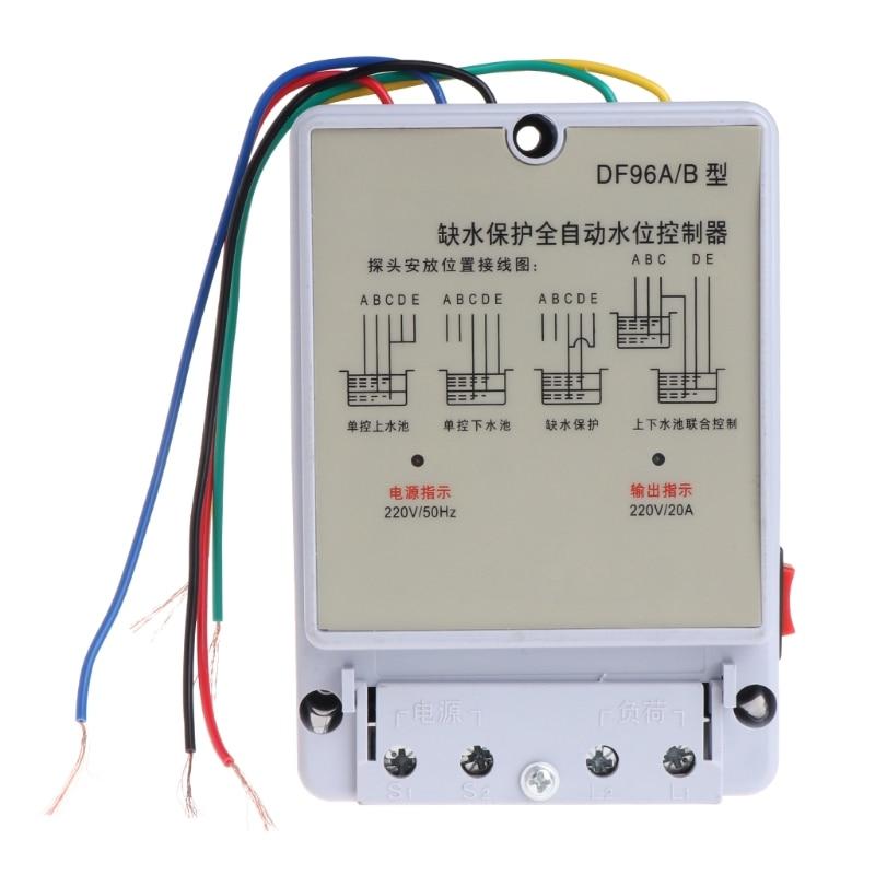 DF-96A/B Automatic Water Level Controller Pump Cistern Auto Liquid Switch 220V велосипед kross level b 2017