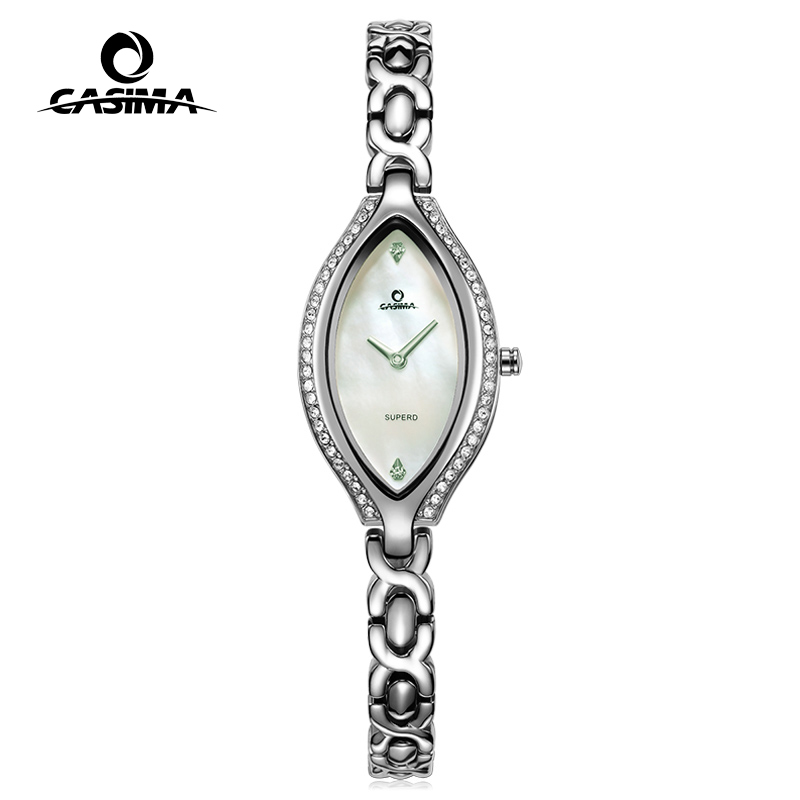 New Fashion luxury brand Watches Women Stainless Steel Bracelet watches Ladies Quartz Dress Watches reloj mujer CASIMA#2618 часы engy ec 19