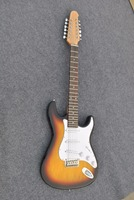 Top quality 12 strings electric guitar Strat electric guitar