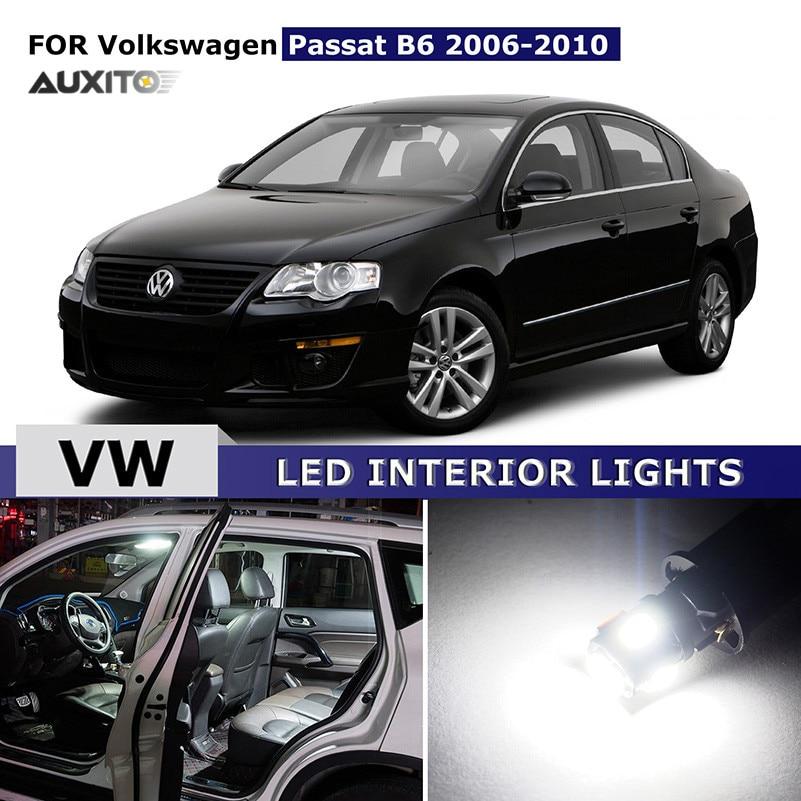 11x For Volkswagen VW Passat B6 2006 2010 Canbus Car LED