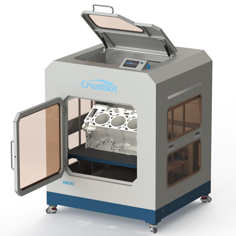 Industrijski 3d printer 3D pisač D600 Dualni ekstruder 600 * 600 * - Uredska elektronika - Foto 3