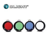 Olight filtro vermelho azul verde branco adequado para M3XS M3X M2X SR52 SR51 T40CS|Acessórios portáteis de iluminação| |  -