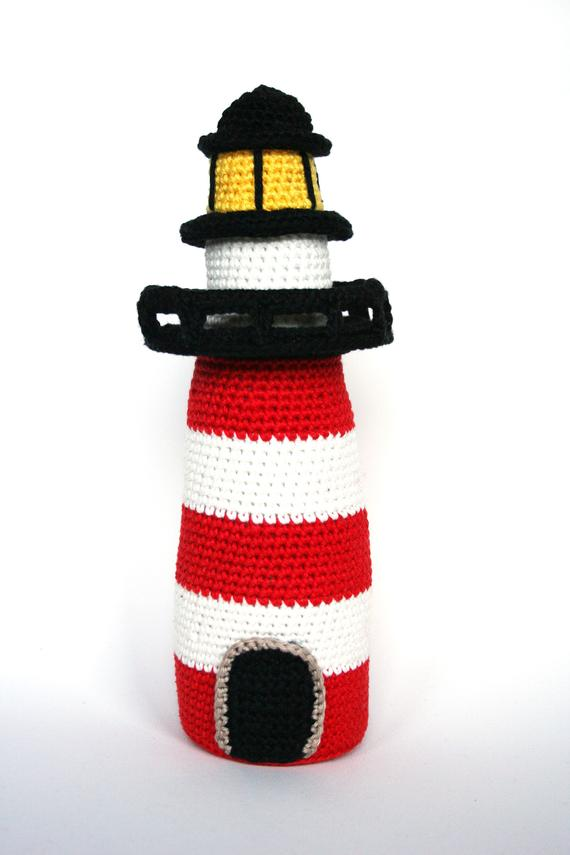 Crochet Toys  Amigurumi Lighthouse Model Number 0951