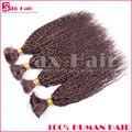 Grau 7A Granel Para Trançar O Cabelo Virgem Brasileiro Do Cabelo Humano Virgem Volume do cabelo Sem Derramamento de Nenhum Emaranhado Abastecido Venda Quente da Qualidade Superior