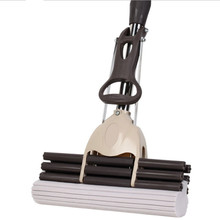 Glue Cotton Mop Sponge Twist The Water Microfibre Nozzle Flat Rotated Spray Self-squeezing Without Hand Washing