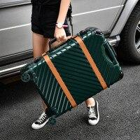 20''24''26''29''Large Capacity Aluminum Frame Suitcase Travel Trolley Luggage TSA Lock Koffer mala de viagem Spinner Casters