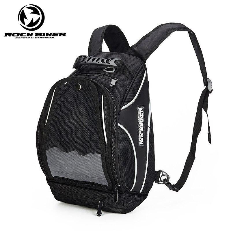 Motorcycle Tank Bags Black Oil Fuel Tank Bag Multifunction Helmet Backpacks Motorbike Touring Tank Bag Motocross Saddle Bag