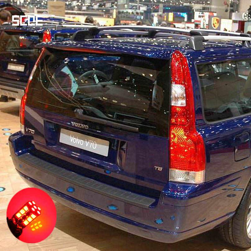 Dla Volvo V70 2 XC70 2 XC70 CrossCountry SCOE 2015 2X 30SMD led hamulec/Stop/Parking tylny/żarówka światła tylnego/źródło światła Car Styling