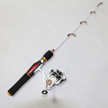 57CM Ice Fishing Rod FRP Ice Rod Best Ice Fishing Pole Winter Fishing Tackle Casting Rod Fishing Accessories K8356
