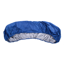 3/4.1m Kayak Boat Storage Cover Waterproof Oxford Cloth Kayak Rowing Boat Canoe Protector Canoe Storage Dust Cover Shield Blue