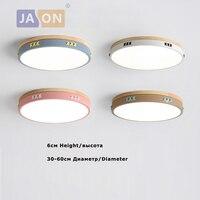 LED נורדי ברזל אקריל עץ צבעים עגול 6 cm דק LED מנורה. LED אור. תקרת אורות. LED תקרת אור. תקרת מנורת למבואה-בתאורת תקרה מתוך פנסים ותאורה באתר