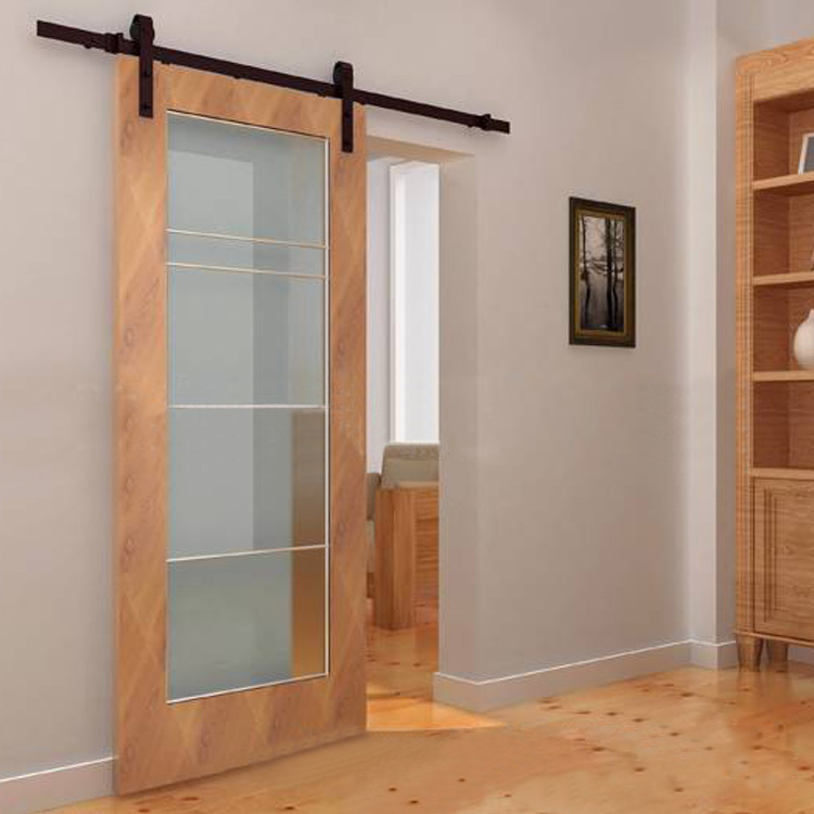 Foreign Wood Sliding Door Hardware Accessories American Barn Door Sliding  Door Hanging Door Hanging Round Pulley Hanging Rail Tr In Door Hinges From  Home ...