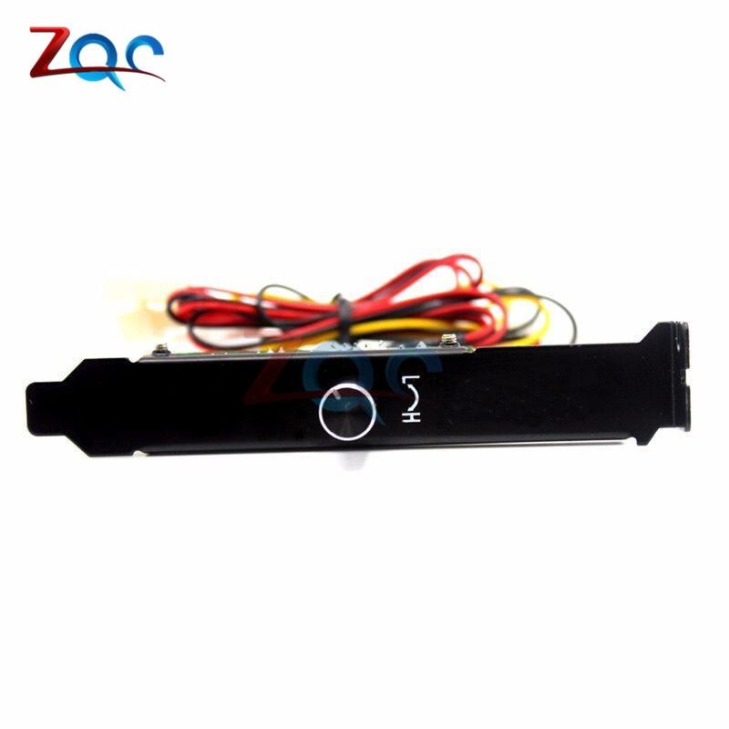 3 canais pc cooler ventilador de refrigeração