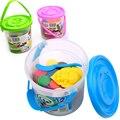 12pcs/set Creative Modelling Clay Dry Playdough Light DIY Soft Creative Handgum Toys Plasticine Clay Baby Kids Fun Game Gifts