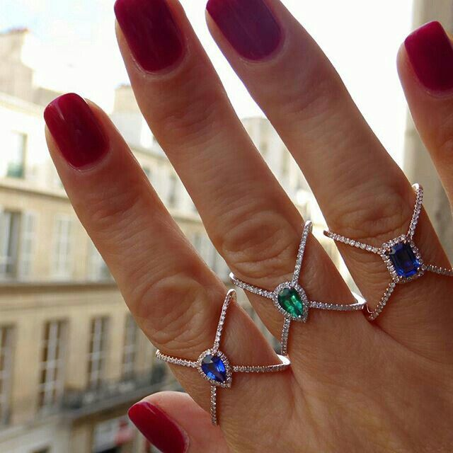 Green blue cz X ring criss cross micro pave cz women full band 2018 new arrived fashion elegance women finger Jewelry