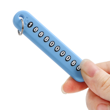 LEEPEE аксессуары для интерьера анти-потеря автомобильный телефонный номер карты брелок для телефона номерной знак автомобильный брелок
