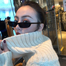 Hindfield Fashion Square Sunglasses Women CatEye Luxury Brand Retro Sun Glasses Mirror Red Colorful Small Lunette Femme Oculos цена 2017