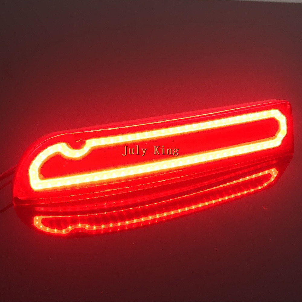 Juillet Roi LED Frein Clignotants Running Light Cas pour Toyota RAV4 Previa Ipsum Souhait Alphard Vellfire Estima Gaia Pique-Nique etc