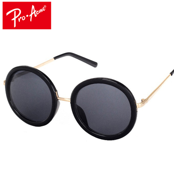 Pro Acme ретро круглые очки Для женщин бренд Винтаж Покрытие Солнцезащитные  очки De Sol Gafas Люнет де солей CC0814 6603fe42d03