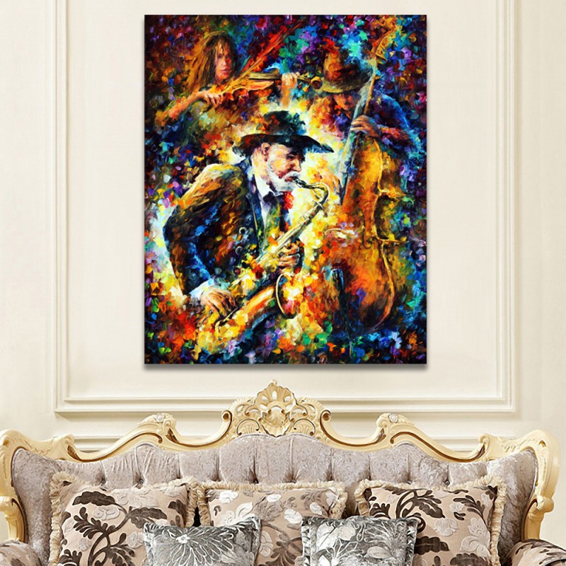 Fashion Animals Giraffe Zebra Horse Canvas Painting A4 Art Oil Prints Poster Hippie Wall Picture No Framed Office Home Decor