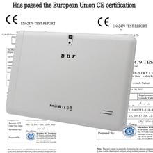 10.1 «планшетный ПК Android 4.4 3 г вызова tablet pc 16 ГБ Quad Core 1.5 ГГц, Оперативная память: Dual SIM Bluetooth GPS Wi-Fi 10.1 дюймов Tablet