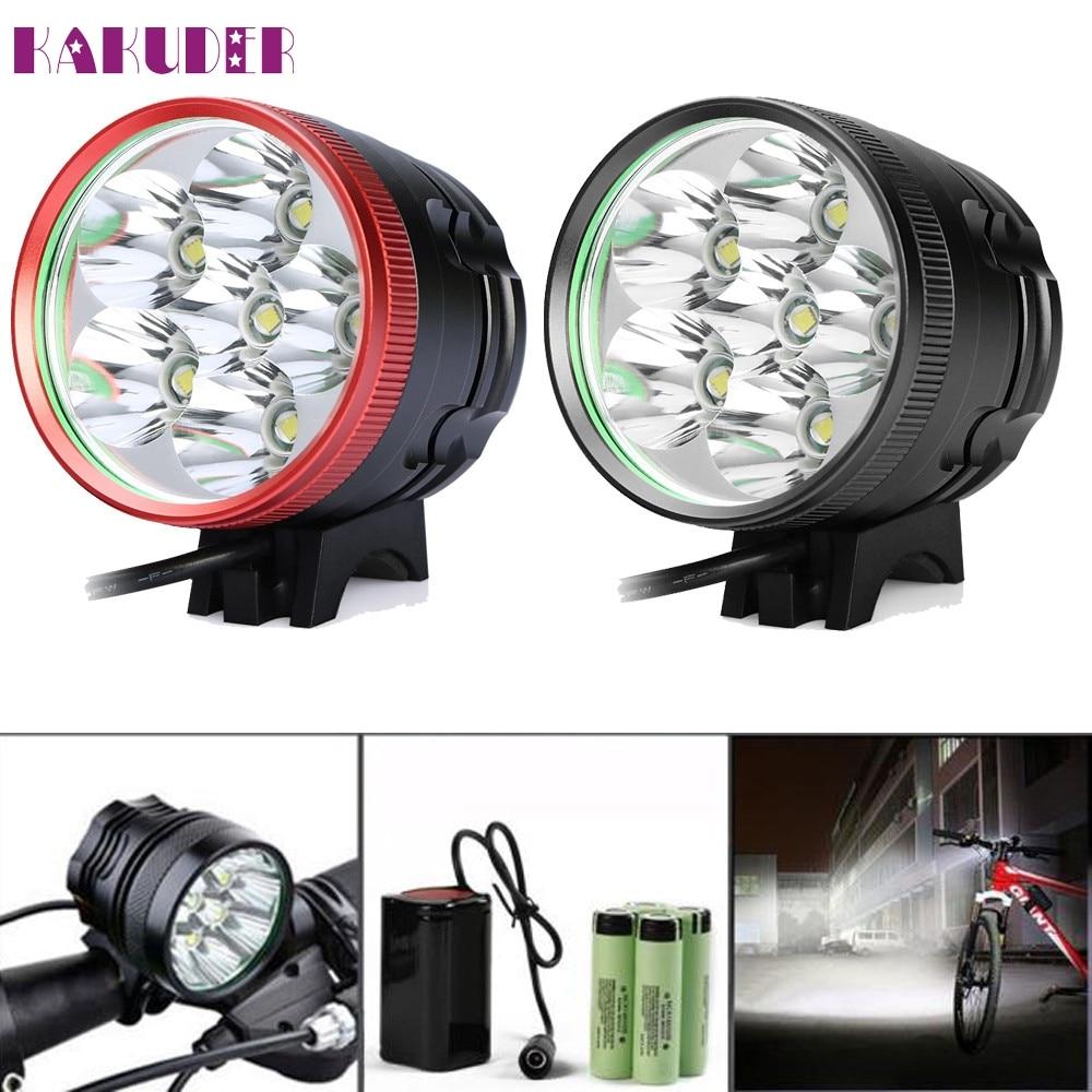 ФОТО Tiptop New 12000 Lm 6x XML 6T6 LED 3 Modes Bicycle Cycling Waterproof Lamp Bike Headlight NOV16