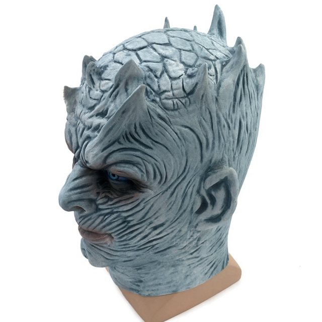 Night King Walker Face Latex Mask 4
