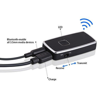 Bluetooth V2 1 Transmitter Receiver Wireless Bluetooth Audio 2in1 Adapter P4PM