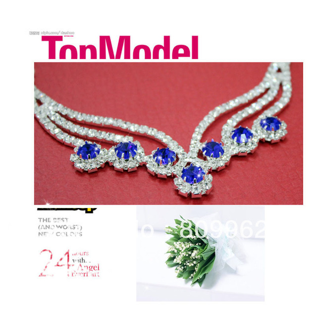 Free Shipping Summer Style Fashion Wedding Jewelry Sets For Wedding Dress Wedding Accessories Crystal Bridal Necklace