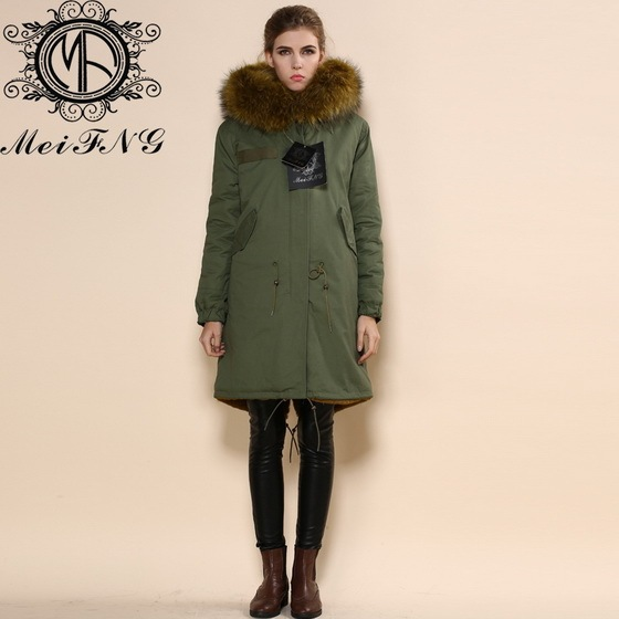 Aliexpress.com : Buy Womens winter parka coat real Fur Trim hooded