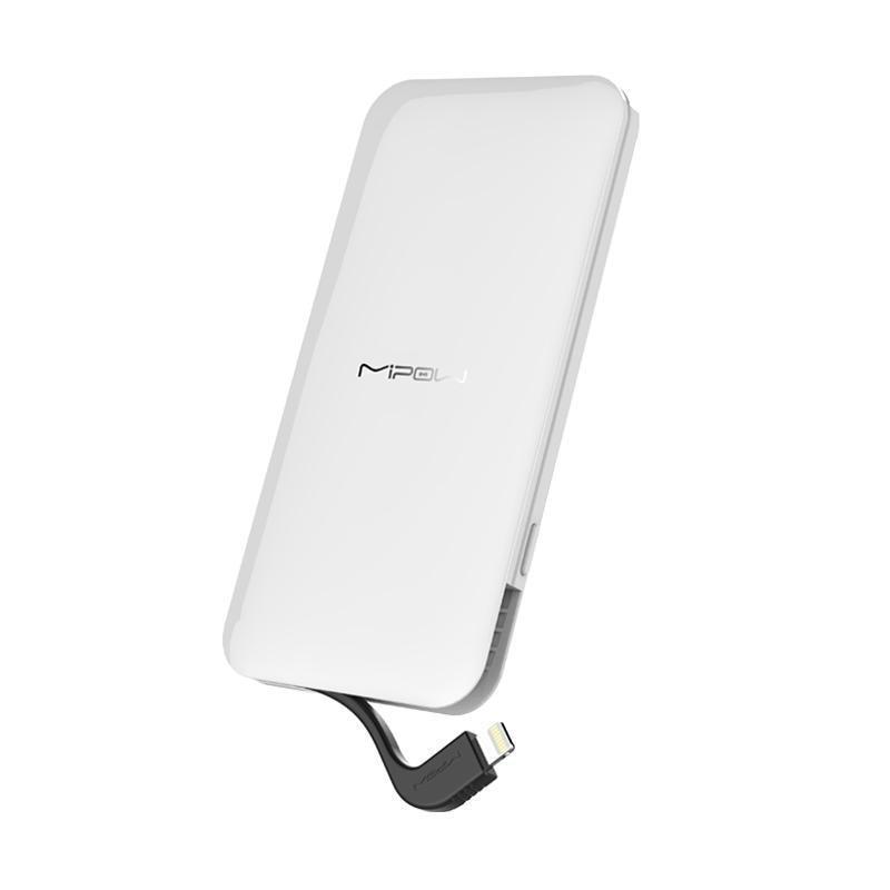 Mipow batterie externe 5000/7000 Portable batterie externe avec connecteur d'éclairage intégré pour iPhone 7/8/8 Plus et iPhone X