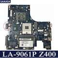 KEFU LA-9061P האם מחשב נייד עבור Lenovo Z400 המקורי mainboard PM