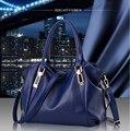 Женщины сумка 2016 новая сумка женская классические случайные мода мягкая сумка женщина косой портативный сумки на ремне