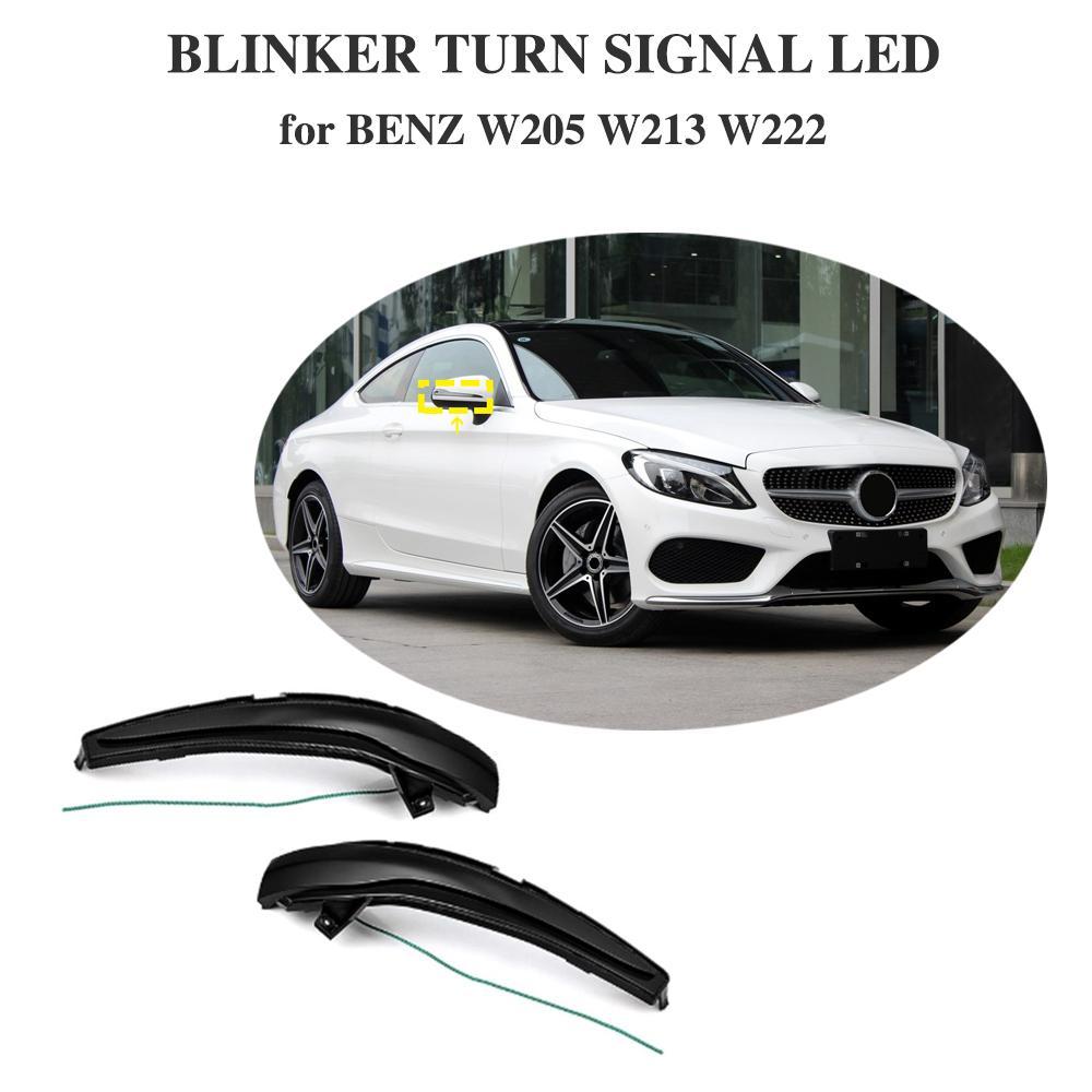 Pour Mercedes Benz C classe W205 GLC X253 E W213 S W222 clignotant dynamique aile latérale LED rétroviseur indicateur clignotant