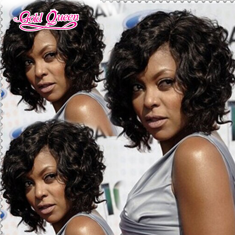 Best 100% malaysian curly hair short human hair lace front wigs curly bob  wig bob full lace wig looks capable and experienced 9f61231a701c